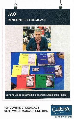 Cultura Limoges- Samedi 8 décembre 2018