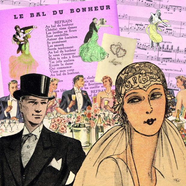 Un collage Faire Part de mariage personnalisé !