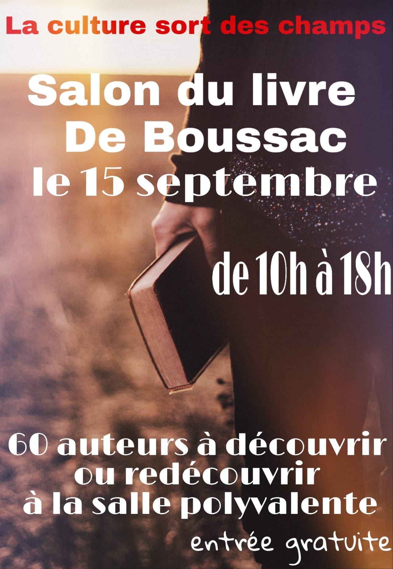 Boussac (23) – Dimanche 15 septembre 2019