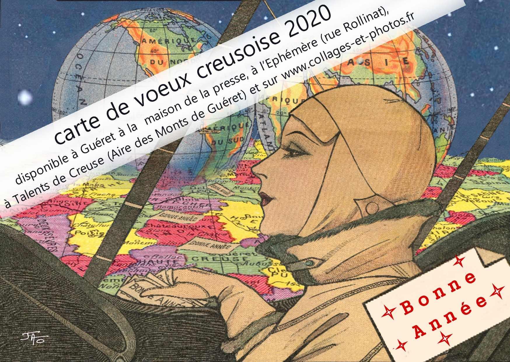 Nouveauté : Carte de voeux «creusoise»