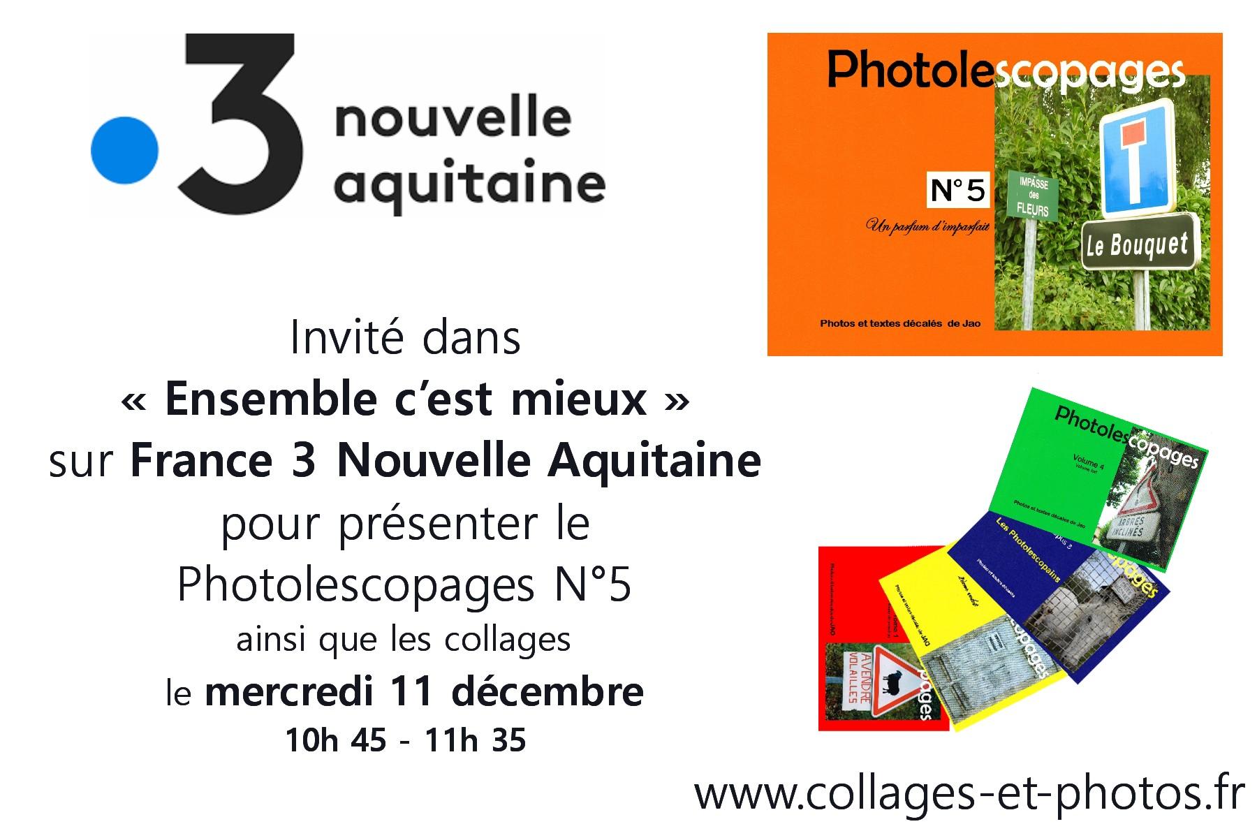 France 3 Nouvelle-Aquitaine – Mercredi 11 décembre 2019