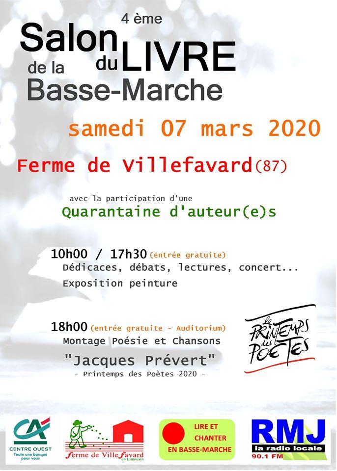 La Ferme de Villefavard (87) – Samedi 7 mars 2020