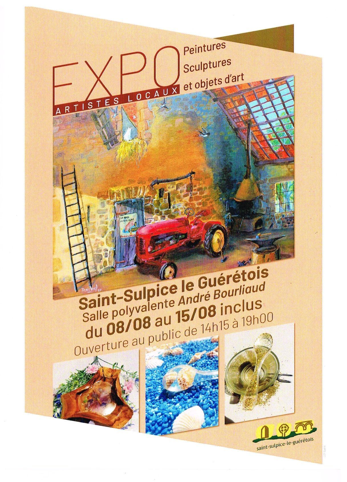 St Sulpice le Guérétois – du 8 au 15 août 2020